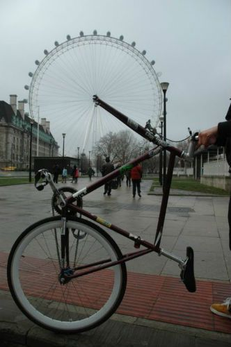 Perspectiva: The London Eye Bike Edition