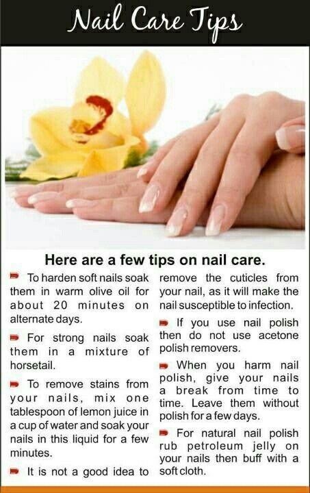 Healthy Tips For Healthy Nails Workout Plan Nail Care Tips Nail Growth Tips Natural Nail Care