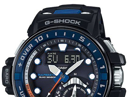 How To Set Time On Casio G Shock Gwn Q1000 5477 Shock G Shock Casio G Shock