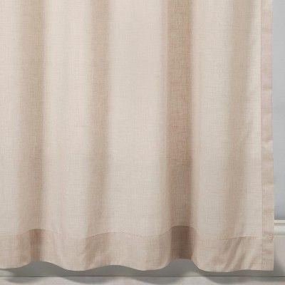 2pk 95 Curtain Panels Beige Linen Made By Design Tan Panel