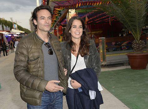 Anthony et Anouchka Delon - Samy Naceri en famille à l'inauguration de la Fête des Tuileries - Voici
