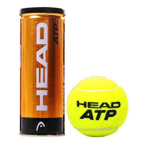 3pcs Tube Head Atp Tennis Balls Official Tennis Ball Of The London Master Tennis Balls