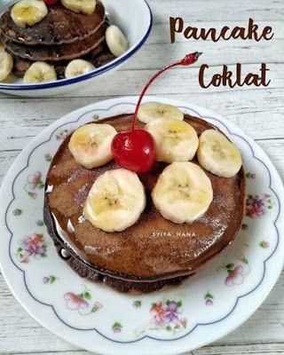 Pancake Coklat Makanan Resep Makanan Resep Masakan