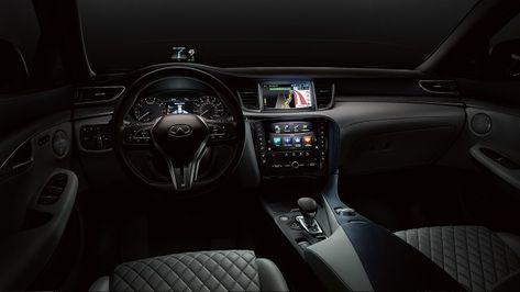 2019 Infiniti Qx50 Interior Front Seating Infiniti Luxury Crossovers Infiniti Usa