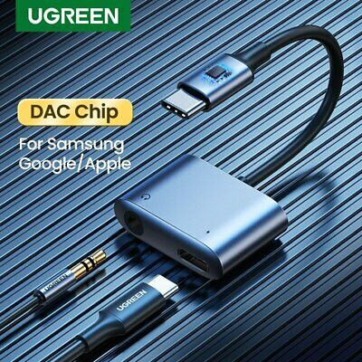 Ugreen Usb Type C To 3 5mm Aux Adapter Earphone Headphone Cable Dac For Samsung Usb Samsung Earphone
