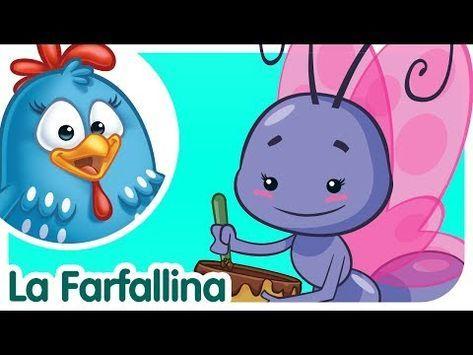 La Farfallina Canzoni Per Bambini E Bimbi Piccoli