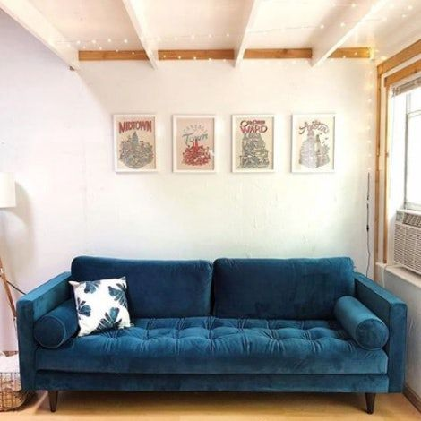 Undefined Sofa Comfy Bedroom Mid Century Style Sofas