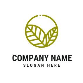 Pin By Subwax On Logo Nature Logo Design Eco Logo Design Circle Logo Design