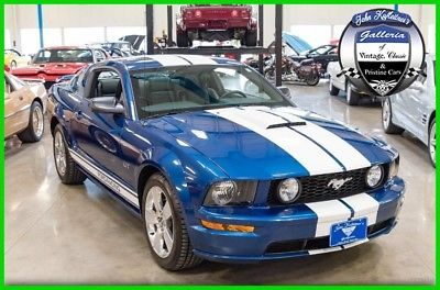 Ford Mustang 2007 Ford Mustang Gt Deluxe 4 6l V8 6 Speed Manual 07 2007 Ford Mustang Ford Mustang Ford Mustang Gt