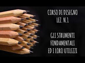 Corso Di Disegno Arte Per Te.Corso Di Disegno Lez N 1 Gli Strumenti Fondamentali E Come