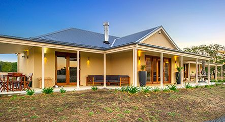 Paal Kit Home Captures The Charm Of Old Australia Yass Nsw Kit Homes Australia Kit Homes Prefab Home Kits