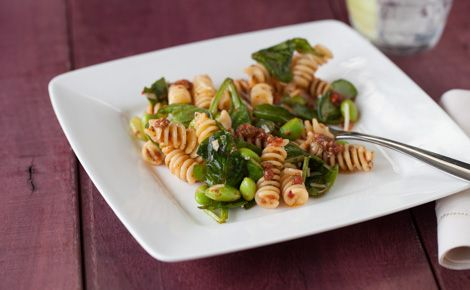 #Epicure Little Italy Rotini with Edamame Beans & Spinach