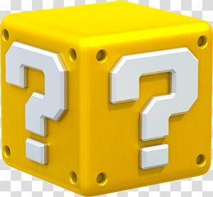 Yellow Mystery Box Super Mario Bros Super Mario Galaxy Super Mario 3d World New Super Mario Bros Block Transpare In 2021 Super Mario Super Mario Bros Super Mario 3d