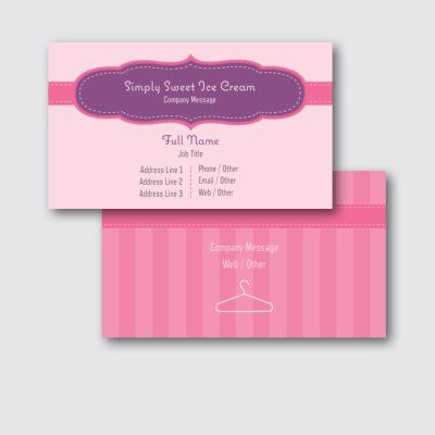 Affordable Pearl Business Cards Custom Pearl Business Cards Page 19 Vistaprint Business Card Template Ice Cream Truck Vistaprint