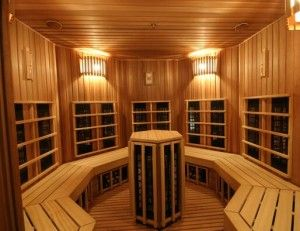 Awesome Cheap Infrared Sauna Spa In Home | Saunas U0026 Endless Pools | Pinterest |  Infrared Sauna, Saunas And Endless Pools