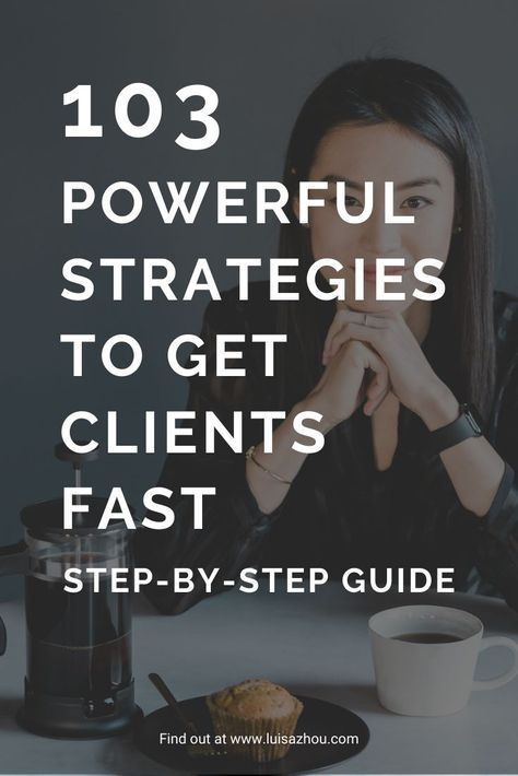 How to Get Clients Online: 103 GREAT Strategies in 2020