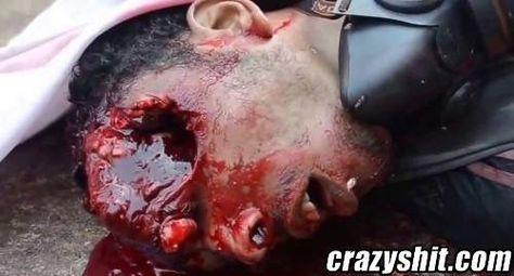 Head shot deadly!