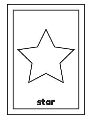 Printable Trapezoid Templates Shape Templates Shapes For Kids
