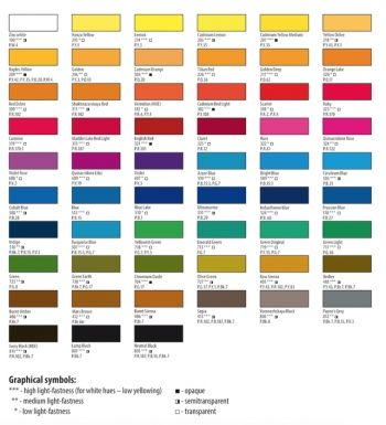 White Nights Artists Watercolours Set 36 Full Pans In 2020