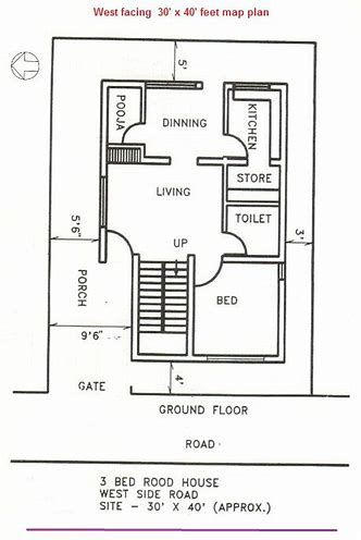 Image Result For Vastu West Facing Plot West Facing House Small House Plan House Plans