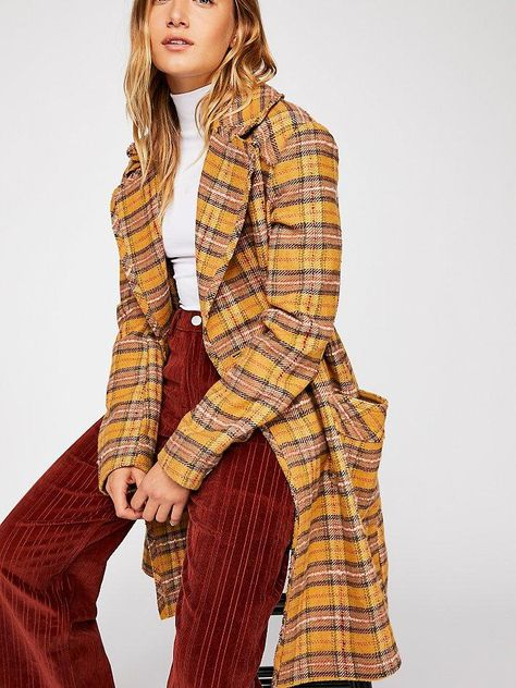 Ciao B Check Coat by Free People  $368