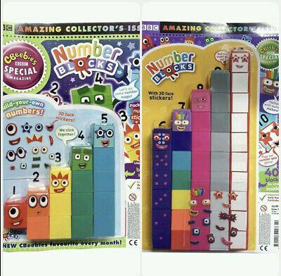 educational preschool Numberblocks Cbeebies 1-5 /& 6-10 Number Blocks