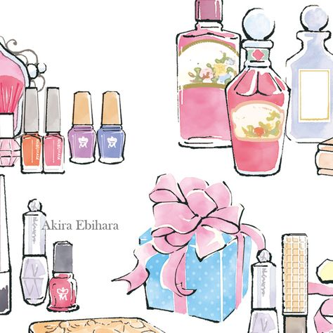 Illustration: Akira Ebihara Client: Shiseido Company, Limited 資生堂