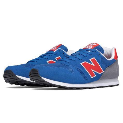 62a5030616 Zapatillas moda NEW BALANCE ML373 Tiempo libre y sportwear Zapatillas retro  running New Balance 373 en colores azul gris y rojo para hombre.