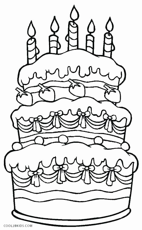 Pin Di Birthday Coloring Pages