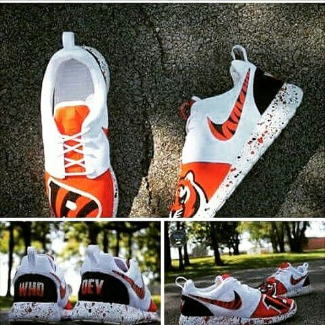 buy online 124f4 550e3 Cincinnati Bengals custom Roshes