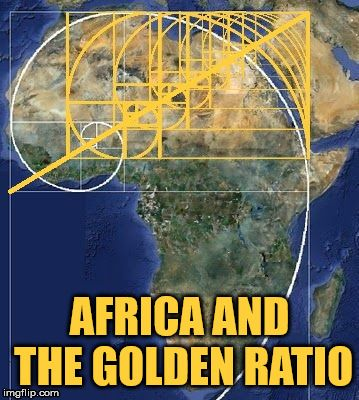 Africa and the Golden Ratio. The smallest one lands at the Great Sphinx. |  Golden ratio, Sphinx, Greatful