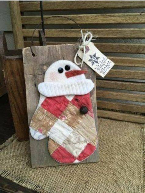 Weathered Looked Shutter Shelf Heart Star Apple Christmas Tree Primitive Wood