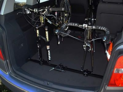 Bikeinside Interior Bike Rack Van 2 Bikes Against Driving Direction Third And Person Possible Take Your Bicycle In