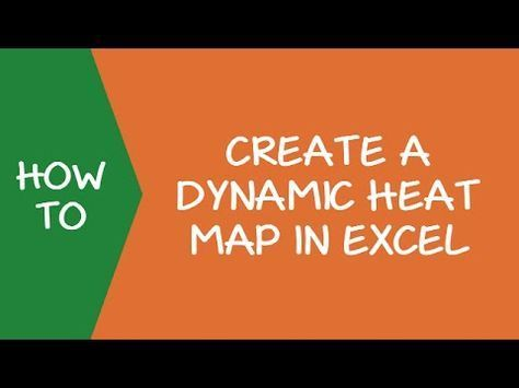 How To Create A Heat Map In Excel A Step By Step Guide Heat Map Excel Map
