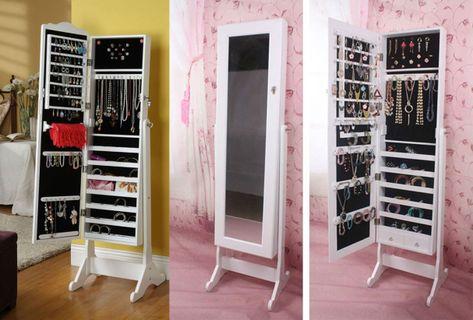 Exceptionnel Armoire Miroir à Bijoux