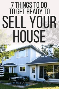 To Do Before Listing Your House: 7 Things That Will Help it Sell Quickly
