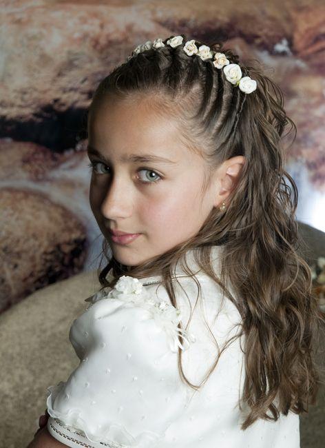 Peinados para bautizo para niña - Imagui