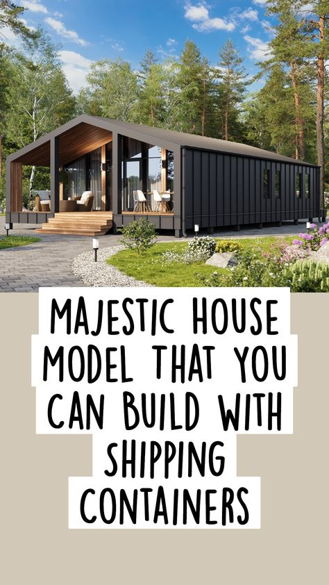 Majestic House Model That You Can Build with Shipping Containers