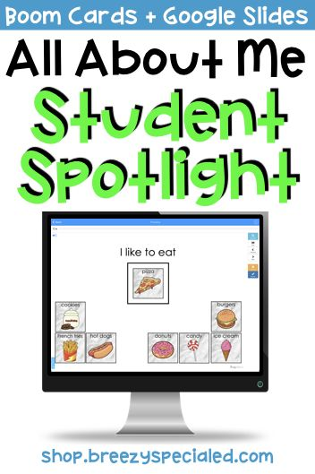 Digital All About Me And Personal Info For Special Education Life Skills Special Education Life Skills Classroom Teaching Life Skills