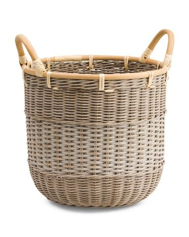 Rattan Weave Natural Storage Basket Storage Baskets Basket