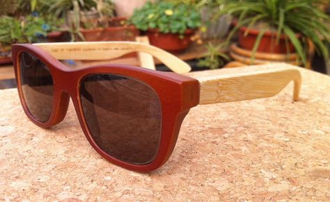 b3b1894e542 TAKEMOTO MJX1055 handmade bamboo sunglasses with wood box on Etsy