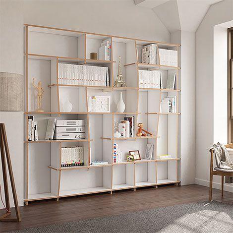 Bucherregal Tanea Bucherregal Homeofficedesigndiyshelves Tanea In 2020 Home Office Design Modular Office Furniture Office Design Diy