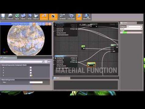 Ue4 Landscape Material Tutorial Pt1 Landscape Materials