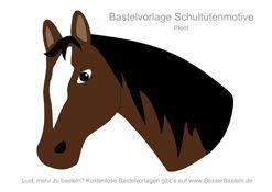 Mittlerer Pferdekopf 5 Schultute Basteln Vorlage Schultute Basteln Lesezeichen Basteln