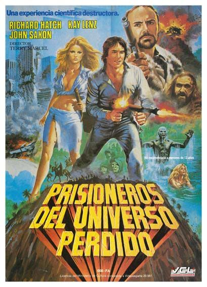 Prisioneros Del Universo Perdido 1983 Prisoners Of The Lost Universe De Terry Marcel Tt0086141 Prisioneros Cine Kay Lenz