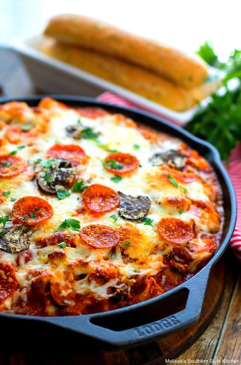 This cheese tortellini bake is a mash-up of pasta and supreme pizza rolled into one delectable meal #supremepizza #supremepizzapasta #cheesetortellini #cheese #pastarecipes #tortellini #casseroles #pasta #dinner #dinnerideas #italianfood #southernrecipes #southernfood #italiansausage