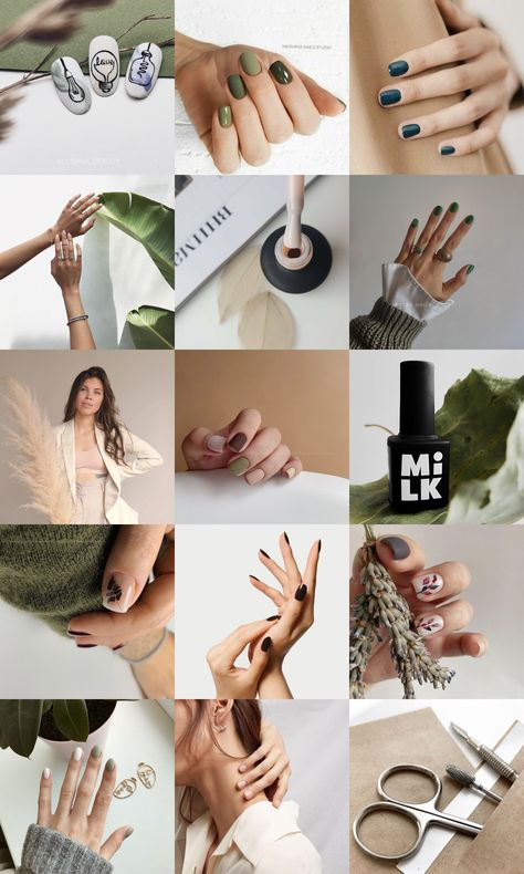 Visual references for nails master \ референс визуала для мастера маникюра