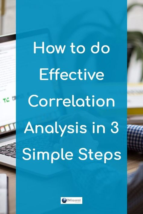 How to do correlation analysis in 3 simple steps