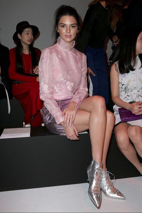 29 trendy fashion week makeup looks kendall jenner