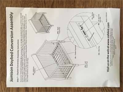 Solved Do You Have Instructions For The Cafe Kids Devon 4 Fixya Pottery Barn Crib Instruction Graco Lauren Crib